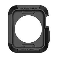 Ốp cao su dẻo chống sốc cho Apple watch bản 42mm _đen