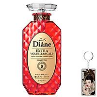 Dầu gội Moist Diane Extra Volume & Scalp Shampoo - Cho tóc mỏng, rụng nhiều, nhiều gàu Hàn Quốc 450ml tặng móc khoá