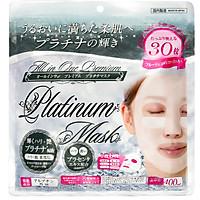 Mặt nạ dưỡng da tinh chất Bạch Kim Premium Face Mask PTS (Gói 30 miếng)