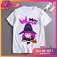 SALE- áo thun mini world nhân vật lilith F017  - ADT Store