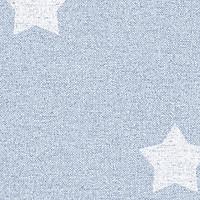 Giấy dán tường Hàn Quốc hình ngôi sao xanh Living 70181