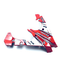 Mỏ cày (ốp lườn) dành cho xe Exciter 150 nhựa đúc khuôn (màu đỏ)