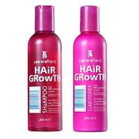 Combo Dầu Gội & Dầu Xả Kích Thích Mọc Tóc Lee Stafford Hair Growth