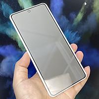 Kính cường lực cho Xiaomi Redmi Note 9S - Redmi Note 9 Pro chống nhìn trộm full viền đen
