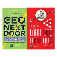 Combo Kỹ Năng Lãnh Đạo Hiệu Quả + CEO Next Door (2 Cuốn)