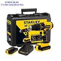 Máy khoan cầm tay 18V Stanley SCH20C2K-B1_1