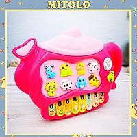 Đàn piano cho bé gái MITOLO đàn organ đồ chơi mini  8819B