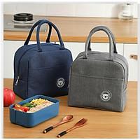 Túi giữ nhiệt đựng đồ tiện lợi mang cơm và đồ ăn khi đi du lịch,cồng nhân viên,có quai cẩm