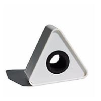 Logo cho micro phỏng vấn hình chữ nhật, tam giác