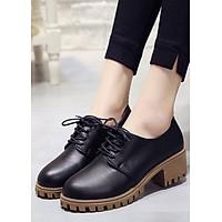Giày boot nữ oxford HIỆN ĐẠI- TRẺ TRUNG GBN2801