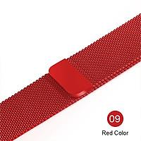 Dây đeo dành cho Apple Watch thép không rỉ 38mm / 40mm 42mm 44mmnam châm dán hít độc đáo - Milanese Loop Stainless Steel Hàng chính hãng PHANHDUONG