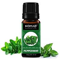 Tinh Dầu Thiên Nhiên Hương Bạc Hà Nomad Essential Oils Peppermint 10ml