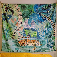Tấm decor treo tường con hổ