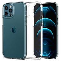 Ốp lưng Cho Iphone 12 Pro Max (6.7 Inch) Silicon Trong Suốt Chống Sốc Chống Va Đập Bảo Vệ Toàn Diện