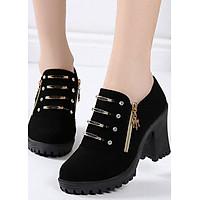 Giày bốt nữ Mới - Phong cách Hàn Quốc B074DV