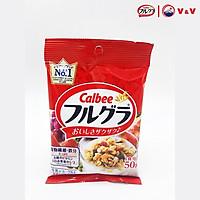 Gói 50g Ngũ Cốc Trái Cây Calbee Nhật Bản