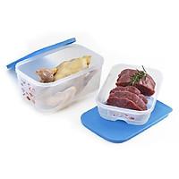 Bộ hộp trữ mát thực phẩm Cool mate Tupperware (2 hộp)