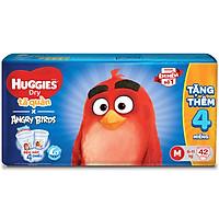 Tã Quần Huggies Dry gói trung Angry Birds phiên bản giới hạn M42 (42 Miếng) - Tặng 4 miếng