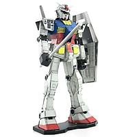 Mô hình thép 3D tự ráp Gundam RX 78-2 màu