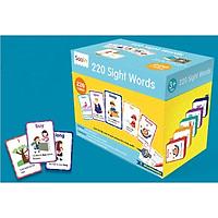 220 sight words - Bộ 220 thẻ học tiếng Anh bền đẹp, nhiều cấp độ cho thiếu nhi
