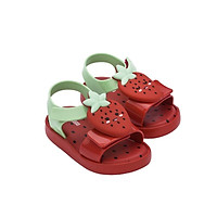 summer mini melissa kids shoes jelly avocado fruit sandals and slippers strawberry decorative slipper