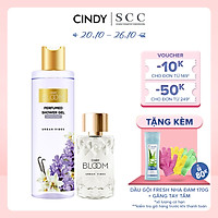 Bộ đôi sữa tắm nước hoa & nước hoa nữ Cindy Bloom Urban Vibes mùi hương tự tin cuốn hút 270g + 50ml