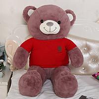 Gấu bông mặc áo len