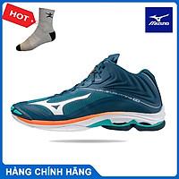 Giày bóng chuyền MIZUNO V1GA200584 WAVE LIGHTNING Z6 MID giày bóng chuyền cầu lông dành cho nam mẫu mới
