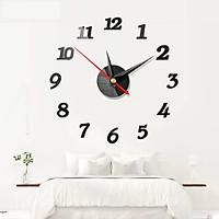 Đồng hồ dán tường SION kiểu dáng độc đáo trang trí nội thất