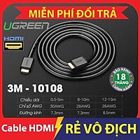Cáp HDMI 3m chính hãng Ugreen 10108