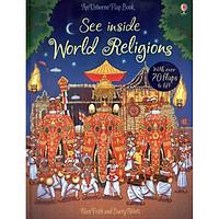 Sách tương tác tiếng Anh - Usborne See Inside World Religions