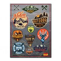 Hình dán Premium Sticker - Travel Badge