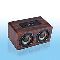 Loa Bluetooth Gỗ HIFI G4 Super Bass Stereo speaker gắn thẻ nhớ G4 PF96