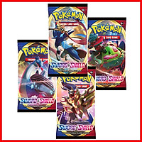 4 Tép Thẻ Bài Pokemon TCG Booster Pack Sword Shield Base Set