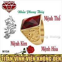Nhẫn Nam Phong Thủy | Nhẫn Phong Thủy Nam Titan NMHOA, NMTHO, NMKIM