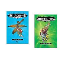 Combo 2 cuốn sách: Animorphs -người hóa thú: Cuộc đối đầu tập 3 + Animorphs: cuộc xâm lược tập 1