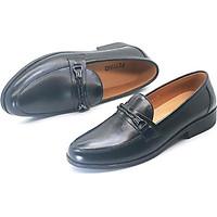 Giày da bò nam dáng lười PETTINO - PL01 tặng kèm tất