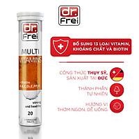 Viên sủi Bổ Sung Vitamin Tổng Hợp Dr. Frei Multivitamins & Biotin