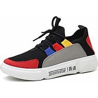 Giày Sneaker Nữ Yamet U5-09 - Xám Đỏ
