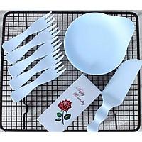 bộ chén đĩa nhựa cứng cho các bữa tiệc nhỏ