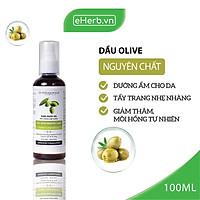 Dầu Olive Nguyên Chất Dưỡng Da - Tóc MILAGANICS 100ml (Chai)