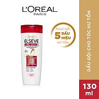 Dầu gội phục hồi tóc hư tổn L'Oreal Paris Elseve Total Repair 5 Repairing Shampoo 130ml