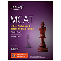 MCAT Critical Analysis And Reasoning Skills Review 2020-2021: Online + Book (Kaplan Test Prep)
