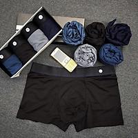 quần sịt nam đùi boxer Freeship từ 50k Hộp 4 quần sịp đùi nam co giãn 4 chiều