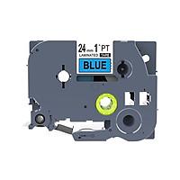 Băng nhãn in siêu bền, chống nước TZ2 TZe cỡ 24mm dài 8m dùng cho nhiều loại máy in Brother P-touch Tz2-251 / Tz2-451 / Tz2-551 / Tz2-651 / Tz2-751