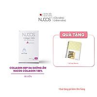 Viên uống collagen trẻ hóa da tăng đàn hồi Nucos collagen 100% 90 viên
