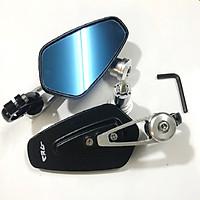 Bộ 2 kính gù chiếu hậu dành cho xe máy (màu bạc)