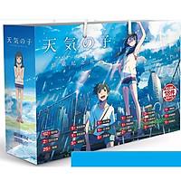 Túi quà anime chibi hình chữ nhật Tenki No Ko Đứa con thời tiết tặng thẻ Vcone