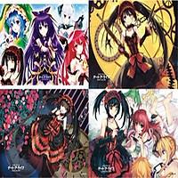 Poster Date a live 8 tấm A3 ảnh dán anime thiết kế bắt mắt độc đáo