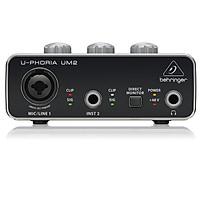 Sound Card thu âm Behringer U-Phoria UM2- Hàng Chính Hãng